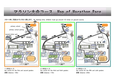 マラソン大会コース